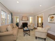 12 Bronson Avenue Larchmont Ny 10538 Family Room Lightingliving Recessed