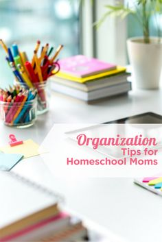 5 tips for organizing your homeschooling in the new year!