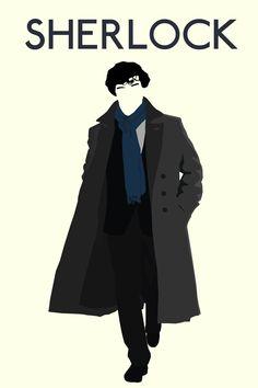 [Image] Minimalist Sherlock Poster I Made. - Imgur
