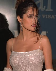 """7,759 Likes, 30 Comments - nineties anxiety (@90sanxiety) on Instagram: """"Salma Hayek attends the GQ Man of the Year awards in New York, October 1998"""""""