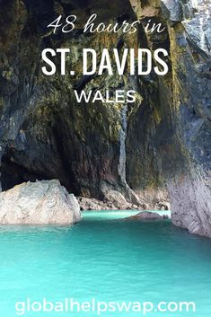 A 48 hour guide to St Davids, Pembrokeshire, Wales - Read why the UK's smallest city punches above its weight & is full of adventure. Cool Places To Visit, Places To Travel, Travel Destinations, Swansea, Wales Uk, South Wales, Cardiff, Pembrokeshire Wales, Honeymoon Photography