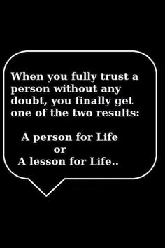 Indeed! #trust #vulnerability
