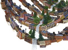 Putting Down Roots: New Paintings of Urban Growth and Turmoil by Amy Casey
