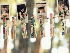 top 30 ideias de decoracao para casamento ao ar livre_revista icasei_varal