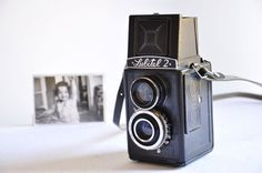 Lubitel 2  Vintage USSR Camera by thelittlebiker on Etsy, €45.00