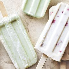 Make your own pine lime Raspberry Ice Cream, Raspberry Syrup, Donna Hay Kids, Coconut Popsicles, Donna Hay Recipes, Gluten Free Deserts, Popsicle Recipes, Pine, December