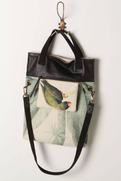 new-amazona-tote-Hobo-ANTHROPOLOGIE-CANVAS-purse-BAG-jasper-jeera-188