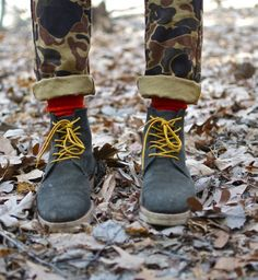 A look from the Basics of Man (camo)