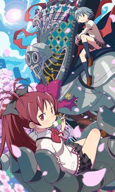 Artist: Gecchu   Mahou Shoujo Madoka☆Magica (Puella Magi Madoka Magica)   Miki Sayaka   Oktavia von Seckendorff   Sakura Kyouko
