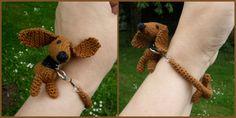enrHedando: Como hacer una Pulsera-Brazalete Mascota