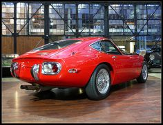 Toyota 2000GT -- The finest car Toyota has ever produced.