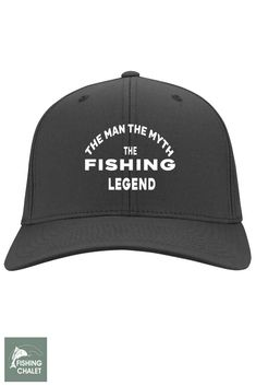 b965f12aaa3 The Man The Myth The Fishing Legend Cap