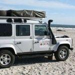 Land Rover Defender 110 of The Vagabond Adventures
