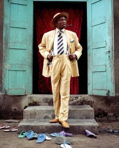 credit where credit is due | congolese dandies | photo essay by héctor mediavilla | hot-climate dandyism has given us back so much we would have otherwise lost