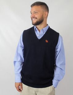 Keep warm and professional in this Sam Houston vest! GO BEARKATS!