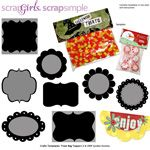 used this template to create treat bag toppers for birthday party.  ScrapSimple Craft Templates: Treat Bag Toppers 2