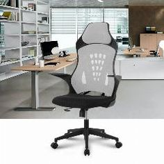 [ $23 OFF ] Langria Ergonomic High-Back Mesh Office Chair Executive Chair Gaming Chair 360 Degree Swivel Desk Chair With Knee-Tilt
