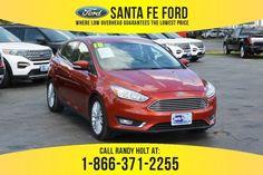 2018 Ford Focus Titanium FWD Hatchback For Sale Gainesville FL - 39444P Ford Focus