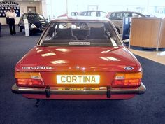The World's last 'brand new' Ford Cortina that's up for sale