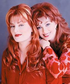 The Judds - saw their farewell tour with Jo and Onda