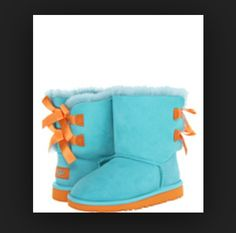orange and blue uggs favorite colors