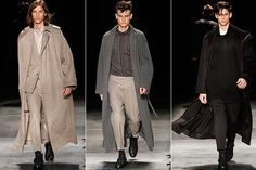 Highlights from the Dior autumn/winter 2010 men's collection, shown as part of #Paris Fashion Week.- possible priests