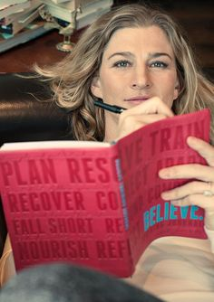 """This is the year I dare to dream."" Inspired by @laurenfleshman's new training journal."