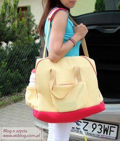 Jak uszyć torbę na trening - blog o szyciu