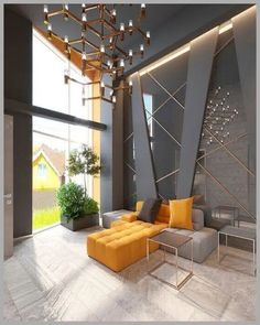 Modern Living Room Ideas With Grey Coloring To Inspire You You are in the right place ab. Best Living Room Design, Home Room Design, Living Room Modern, Interior Design Living Room, Living Room Designs, Modern Contemporary Living Room, Contemporary Apartment, Interior Livingroom, Lobby Design