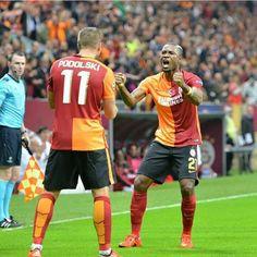 #Podolski #Chedjou #Galatasaray #ultrAslan