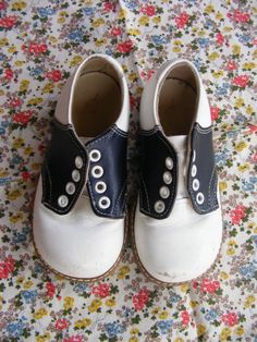 Vintage saddle shoes