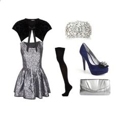 another New Year's Eve outfit idea :)