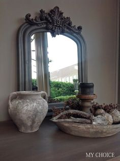 🌟Tante S!fr@ loves this📌🌟muurvuller action Living Styles, Through The Looking Glass, Simple House, Rustic Interiors, Wabi Sabi, Natural Living, Rustic Style, Decoration, Home And Living