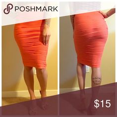 Sexy pencil skirt 💋💋💋 NWOT never worn. Sexy for a night out 💋💋 listed as OS but definitely fits as a small. Skirts Pencil