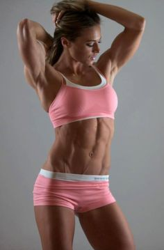 Private gallery of girls with muscle. Teen and bodybuilder girls flexing biceps, abs, calves and much more. Dream Body Fitness, Fitness Abs, Health Fitness, Fitness Weightloss, Pink Fitness, Shape Fitness, Fitness Routines, Bikini Fitness, Workout Fitness