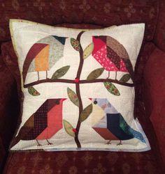 Bird cushion for Jan.