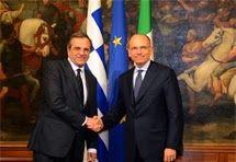 Samaras in Italien und Malta: Südeuropäische Schutzfront gegen illegale Migration