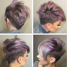 11 Super Coole Kurze Frisuren mit Sidecut