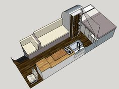 School Bus Conversion Floor Plan on hoophouse.com