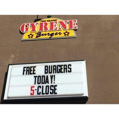 Free Burger today with purchase of fries and a medium drink! Celebrate our 1 year birthday tonight from 5-close  ************************************************* Order Online Now ➡️  www.GyreneBurger.com 281-5426  #Happy1stYear #GyreneBurger1stYear #burger #knoxville #burgers #fortsanders #tennessee #cumberland#Gyrene #LocalKnoxvilleEvent #knoxvillebestburger #gyreneburgerkx #gyreneburger #burgerrestaurant #knoxvilleburgerrestaurant #knoxvilleburger #universityoftennessee…