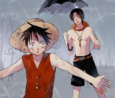 Tags: ONE PIECE, Monkey D. Luffy, Portgas D. Ace, Straw Hat Pirates