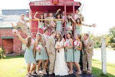 Mint wedding.!