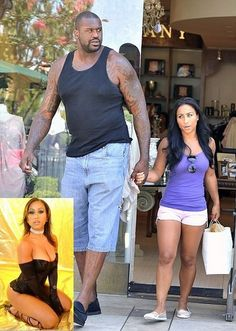 Love is Blind Celebrities (2 of 37): Shaquille and Nicole Alexander