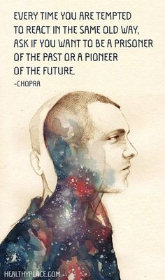 Do you want to be a prisoner of the past or a pioneer of the future?