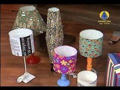 Cúpula de abajur em patchwork | Sabor de Vida 12 de Janeiro de 2012 - YouTube