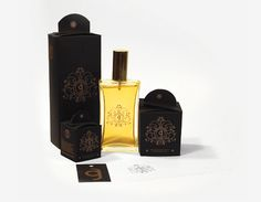 Packaging design; cologne, perfume, soap