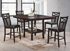 Meghan 5-pc. Counter-Height Dining Set