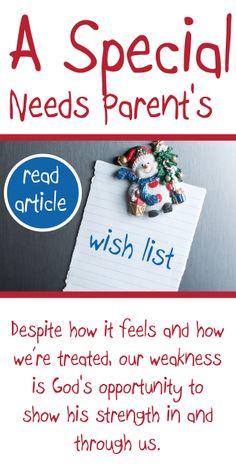 What does a #specialneeds parent want for #Christmas? Read on! via hedua.com/blog