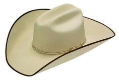 Twister Ruidoso 2X Silver Belly with Brown Trim  T75270277 . Western  HatsCowboy ... 6798973b87be