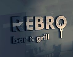 """Check out new work on my @Behance portfolio: """"REBRO bar & grill"""" http://be.net/gallery/37708327/REBRO-bar-grill"""
